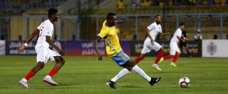 نتيجة وملخص مباراة الاسماعيلى والكويت كأس العرب للاندية الابطال