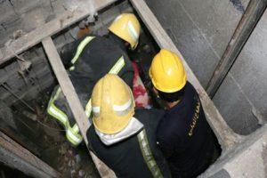 اصابة 4 اشخاص فى سقوط مصعد فى الاسكندرية