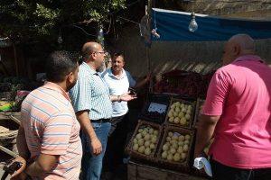 بالصور حملات إزالة إشغالات مكبرة بحي وسط فى الإسكندرية