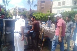 بالصور حملات إزالة إشغالات مكبرة بحي المنتزه فى الإسكندرية