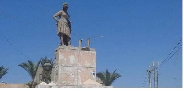 اختفاء تمثال (بائع العرقسوس) بميدان البورصة بحي غرب فى الإسكندرية