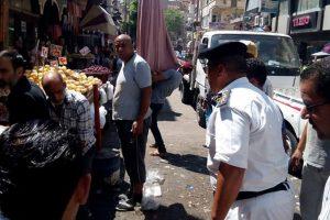 بالصور حملات إزالة إشغالات بحي شرق فى الإسكندرية