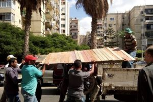 بالصور.. حملات إزالة إشغالات مكبرة بحي شرق فى الإسكندرية