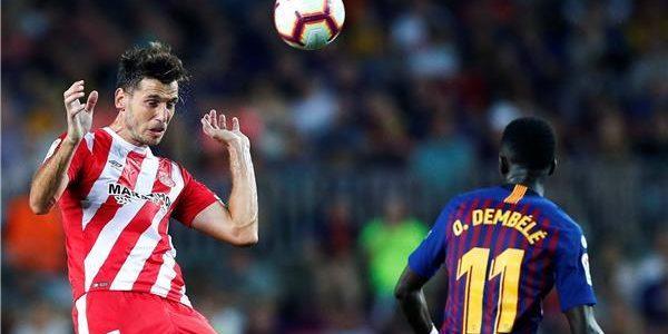 نتيجة مباراة برشلونة وجيرونا