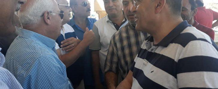 وفد من رجال الأعمال الأردنيين فى زيارة لمحافظة بورسعيد