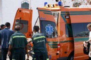 حادث تصادم دارجة نارية مع سيارة ملاكى يتسبب فى إصابة 3 أفراد