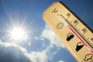 ارتفاع درجات الحرارة اليوم الاثنين بجميع المحافظات