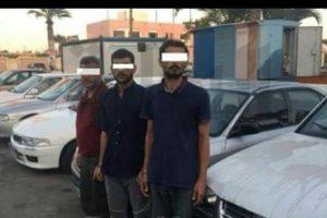 القبض على 3 متهمين فى واقعة سرقة السيارات بدمياط