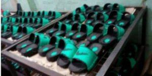 تموين القليوبية ..تتمكن من ضبط مصنع مصنوعات جلدية بشبرا الخيمة بدون ترخيص