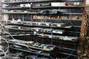 ضبط صاحب محل إلكترونيات بحوزته اجهزة ريسيفر يفك شفرات قنواتها ويعيد بثها بطنطا