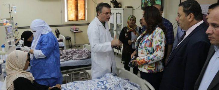 احالة مدير مستشفى السرو بدمياط و منح نواب الزرقا مهلة اسبوع للارتقاء بالمظهر العام