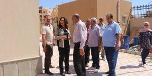 """""""محافظ دمياط"""" تتفقد أعمال الإنشاءات مدارس النيل بدمياط الجديدة"""