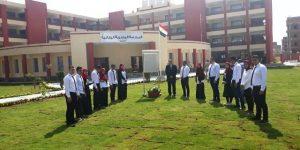 """""""الرئيس السيسى """"يفتتح المدرسة المصرية اليابانية 2 بمدينة العاشر من رمضان"""