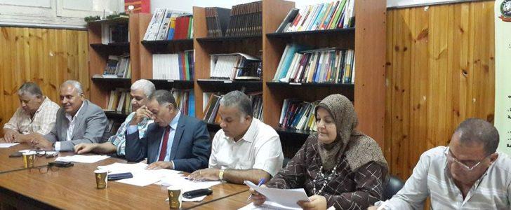 الكثافة الطلابية ملف يفرض نفسة امام وكيل وزارة التربية و التعليم بدمياط