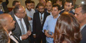 زيارة وزير الشباب