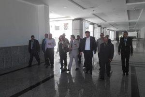 محافظ دمياط تتفقد انشاءات الحرم الجامعي الجديد لجامعة دمياط … صور