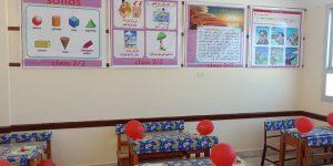 بالصور مدارس دمياط تستقبل طلابها في اول ايام دراسة بالبلالين و الحلويات
