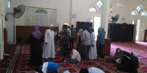 اوقاف دمياط تعقد امتحان فوري لمحو الامية مسجد ناصر بتفتيش السرو