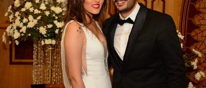 """فستان زوجة """"حامد"""" نجم مسرح مصر يثير جدل على مواقع التواصل الاجتماعي … صوره"""