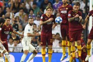 ريال مدريد يسحق روما بثلاثية فى دورى الابطال
