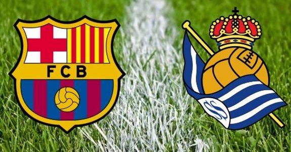موعد مباراة برشلونة وريال سوسييداد الدورى الاسبانى