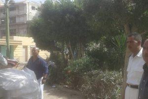 بالصور حملات إزالة إشغالات مكبرة بحى الجمرك فى الإسكندرية