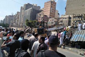 حملات إزالة إشغالات مكبرة بحى المنتزه أول بالإسكندرية