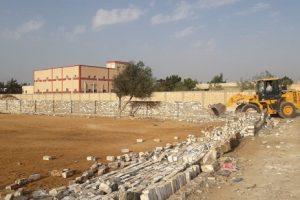 إزالة مباني مخالفة على أراضي الدولة ببرج العرب فى الإسكندرية