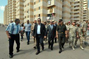 بالصور محافظ الإسكندرية يتفقد مشروع بشائر الخير ٢ تمهيدا لافتتاحه