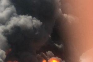 اخماد حريق شب في قطعة ارض زراعية بدمياط دون خسائر بشرية