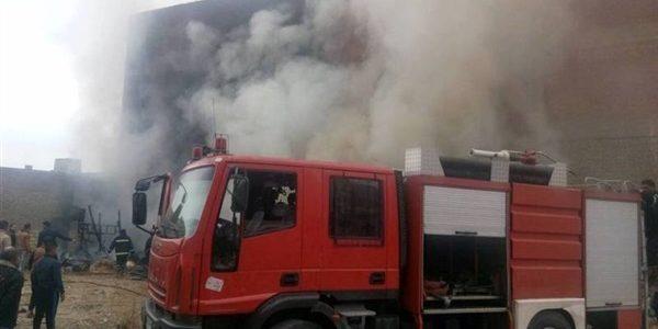 400 الف جنية خسائر حريق مزرعة اغنام في دمياط