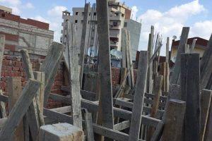 بالصور إزالة أدوار مخالفة بعدة عمارات في حي شرق بالإسكندرية