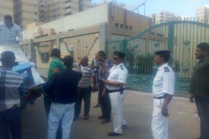 صور.. إزالة تعديات وإشغالات بعدة مناطق في حي غرب بالإسكندرية