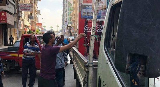 بالصور حملات إزالة إشغالات فى عدة مناطق بحي شرق بالإسكندرية