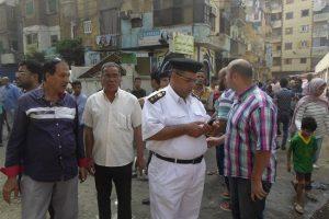 بالصور حملات مكبرة لإزالة إشغالات وتعديات بحي غرب بالإسكندرية
