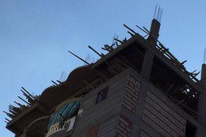 بالصور إيقاف أعمال مباني مخالفة بحى شرق فى الإسكندرية
