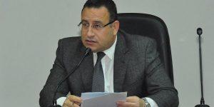 محافظ الإسكندرية يتفقد عقار الورديان المائل