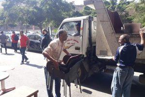 بالصور.. حملات إزالة إشغالات مكثفة بعدة مناطق في حي وسط بالإسكندرية