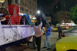 بالصور حملات إزالة إشغالات مكبرة بحي وسط بالإسكندرية