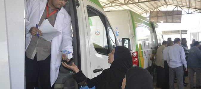 """""""وزارة الداخلية"""" تنظم قوافل طبية لتوقيع الكشف الطبى على المواطنين بمديريتى أمن (سوهاج/ أسيوط )"""