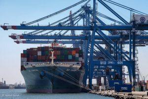 ميناء دمياط يستقبل 8 سفن و 944 شاحنة تغادر بحمولة 48120 طن من البضائع العامة