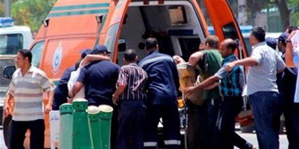 إصابة 19 مواطن فى حادث انقلاب سيارة نقل بمحافظة البحيرة