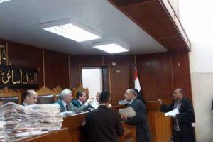 محكمة جنايات الزقازيق تأجيل محاكمة محامي قتل والده في الشرقية