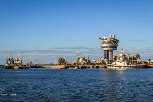 ميناء دمياط يستقبل 8 سفن و  121 سيارة نقل تغادر بحمولة 6559 طن قمح