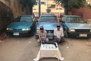 ضبط تشكيل عصابى تخصص فى إرتكاب وقائع سرقة السيارات وتغيير معالمها وإعادة بيعها بالقاهرة