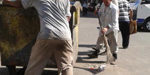 تحرير محاضر بيئة للمخالفات ونفايات طبية بصندوق القمامة أمام مستشفى الحميات ببورسعيد