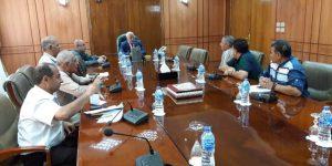 """""""محافظ بورسعيد"""" يتابع المشروعات التنموية التي سيتم افتتاحها في ديسمبر المقبل"""