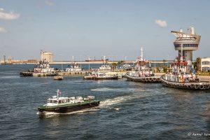 هيئة ميناء دمياط تشارك فى إحتفالية المالية لإفتتاح مبنى المديرية بعد تطويره