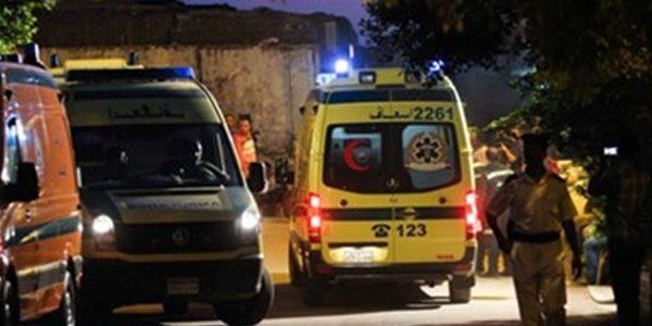 """بالاسماء اصابة 8 مواطنين جراء حادث سير مروع على طريق """"بورسعيد – دمياط"""""""