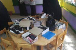 بالصور قوافل السنانية الخيرية تساعد 94 طالب و طالبة بدمياط بملابس وأدوات مكتبية